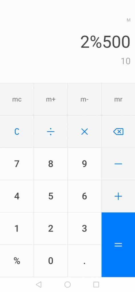 Calculating baker's percent