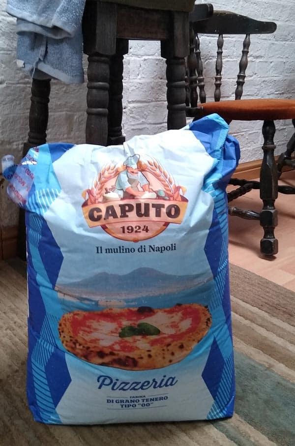 Caputo Pizzeria flour for hand mixed pizza