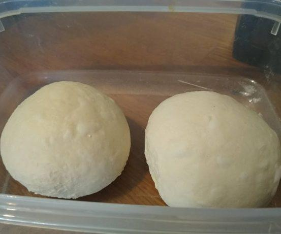Fixing overproved pizza dough