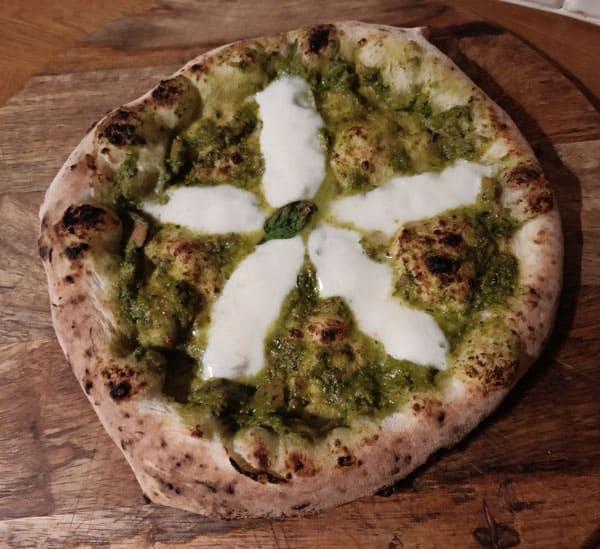 Pesto pizza sauce recipe