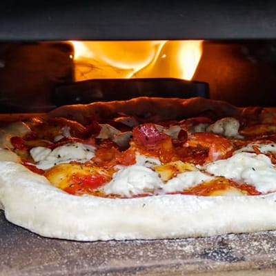 Tom Rothwell's Ooni pizza oven