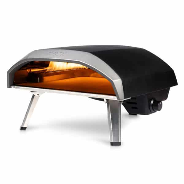 Gas powered pizza oven