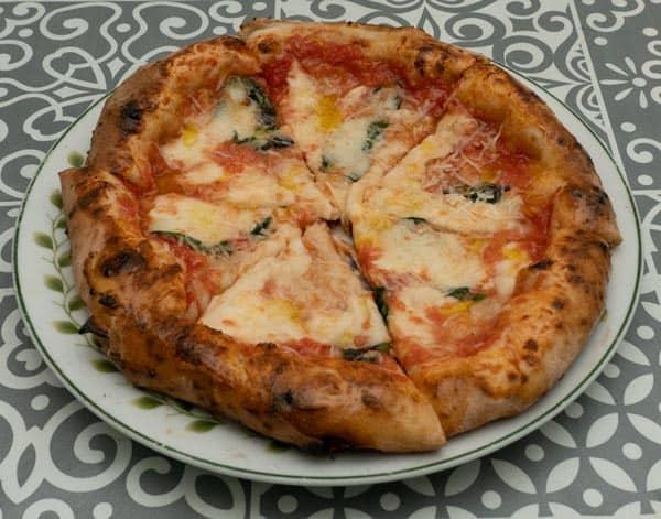 Neapolitan sourdough pizza